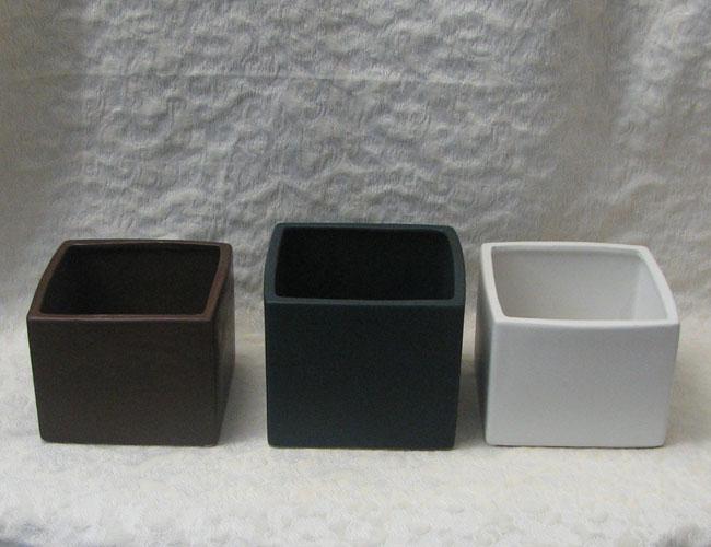 Ceramic Square Vase 171 Wholesale Flowers Amp Supplies